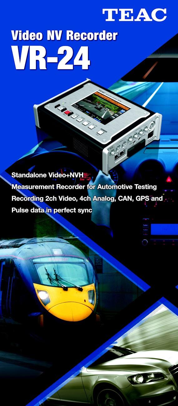 TEAC VR24 NVH Data Recorder