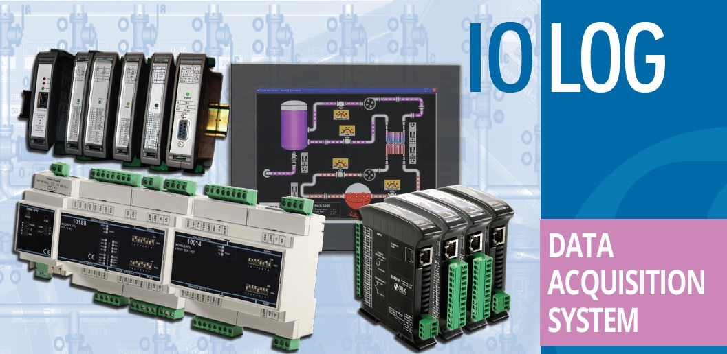 Sielco Modbus I/O modules and Winlog SCADA Software